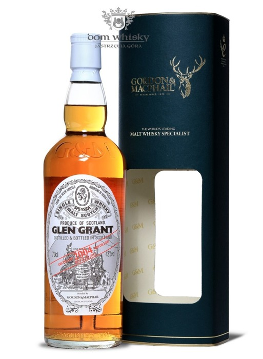 Glen Grant 2004 Vintage (Bottled 2015) Gordon & MacPhail / 40% / 0,7l