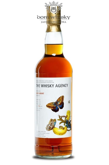 Glen Grant 36 letni D.1973 B.2010 The Whisky Agency /53,6%/0,7l