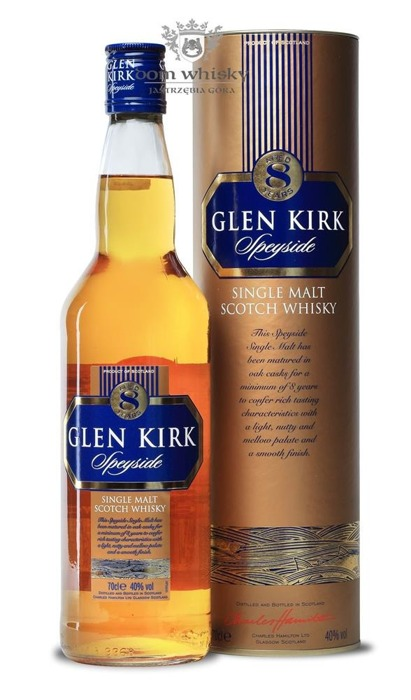 Glen Kirk 8 letni Speyside Single Malt / 40% / 0,7l