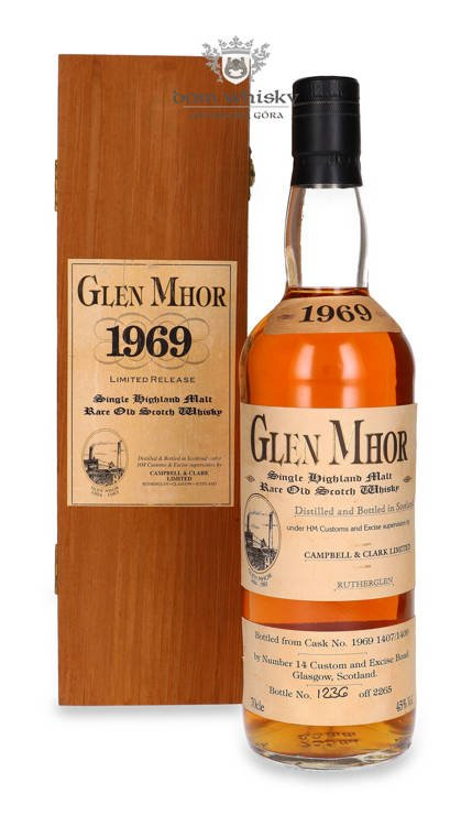 Glen Mhor 1969 Campbell & Clark Limited / 45% / 0,7l