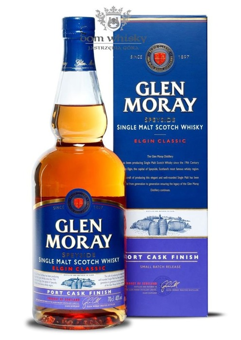 Glen Moray Classic Port Cask Finish / 40% / 0,7l