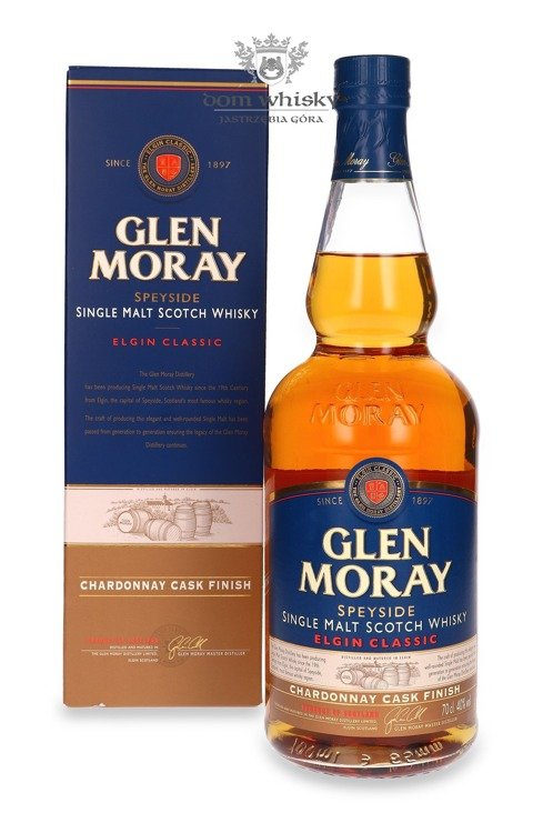 Glen Moray Elgin Classic Chardonnay Cask Finish / 40% / 0,7l