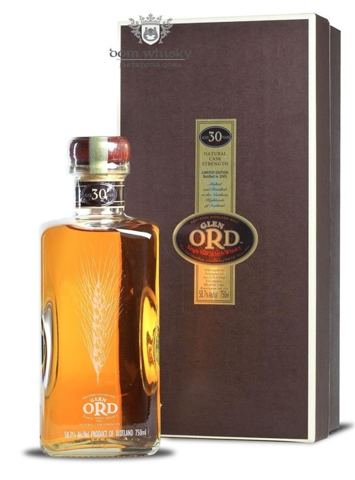 Glen Ord 30-letni (Bottled 2005) Limited Edition / 58,7% / 0,75l