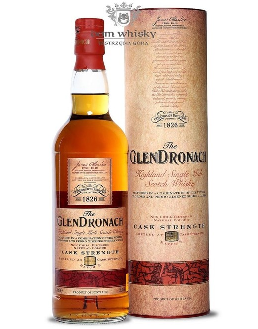 GlenDronach Cask Strength Batch # 5 /55,3%/0,7l