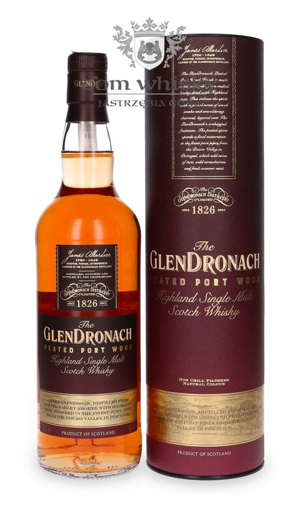 GlenDronach Peated Port Wood / 46% / 0,7l