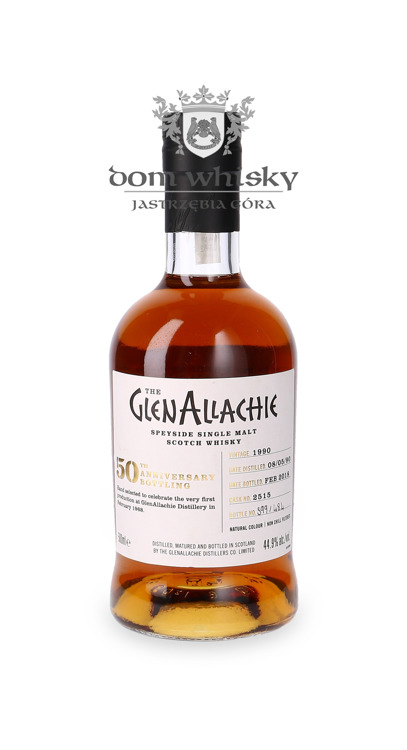 Glenallachie 1990 (Bottled 2018) 50th Anniversary / 44,9% / 0,5l