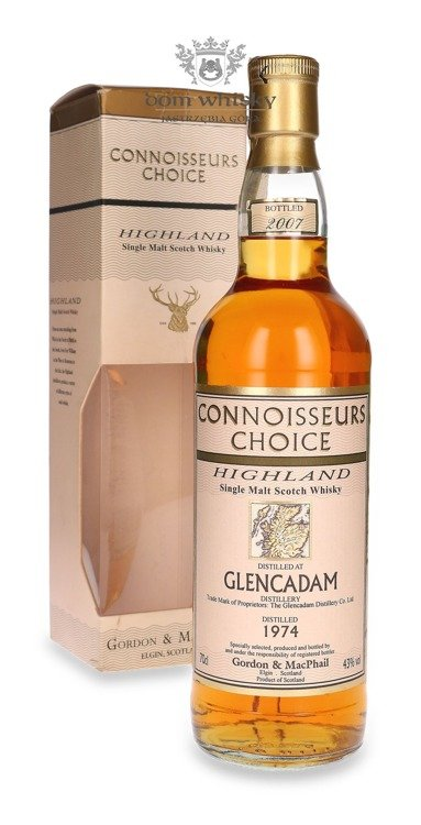 Glencadam 1974 (Bottled 2007) Connoisseurs Choice /43%/ 0,7l