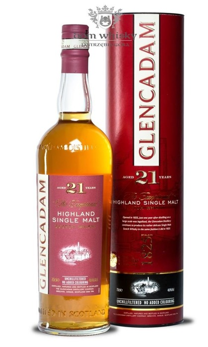 Glencadam 21-letni 'The Exceptional' / 46% / 0,7l