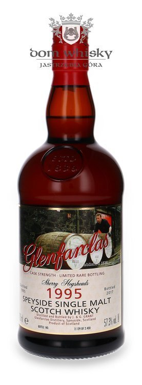Glenfarclas 1995 (Bottled 2017) Sherry Hogsheads / 57,3% / 0,7l