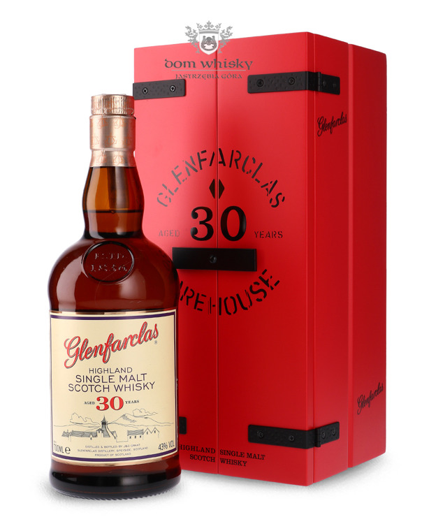 "Glenfarclas 30-letni ""Warehouse"" Presentation Box /43%/ 0,7l"