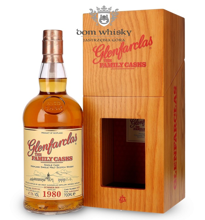 Glenfarclas The Family Casks 1980 (Bottled 2016) / 47% / 0,7l