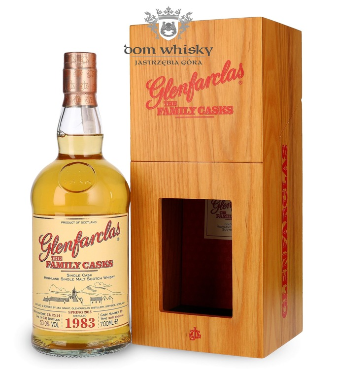 Glenfarclas The Family Casks 1983 (Bottled 2014) / 53% / 0,7l