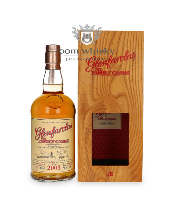 Glenfarclas The Family Casks 2003, Bottled 2018 / 58,3% / 0,7l