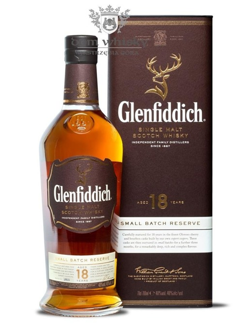 Glenfiddich 18-letni Small Batch Reserve / 40% / 0,7l