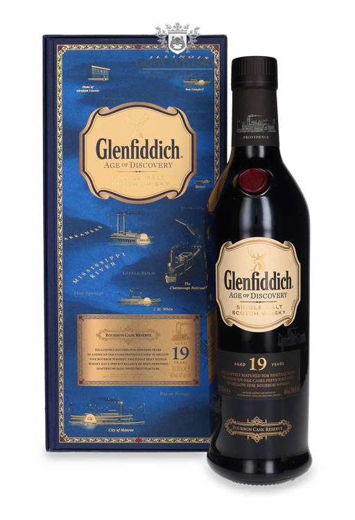 Glenfiddich 19-letni Age of Discovery Bourbon Barrel /40%/0,7l