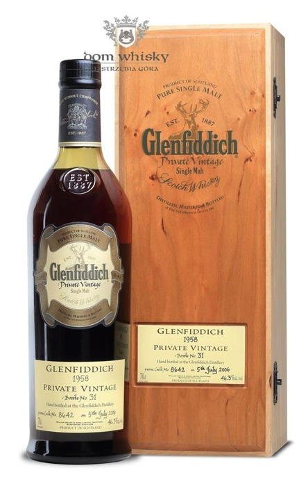 Glenfiddich 1958 Private Vintage (Cask # 8642) / 46,3% / 0,7l