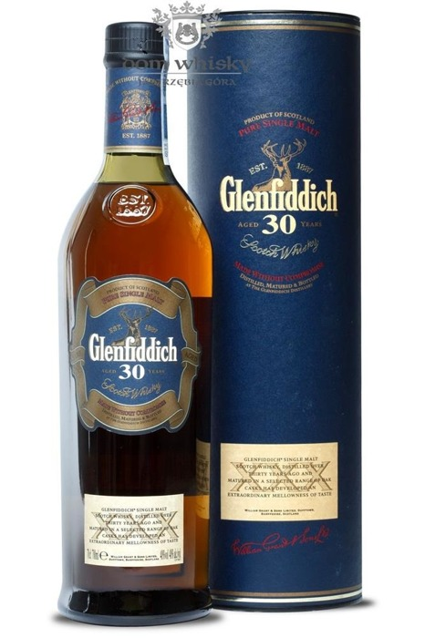 Glenfiddich 30-letni (Old Presentation) / 40% / 0,7l