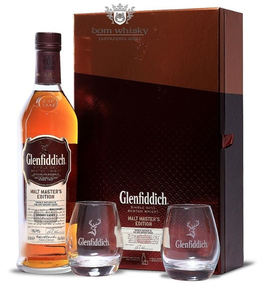 Glenfiddich Malt Masters Edition Batch 06 /with Tasting Glasses/ 43% / 0,7l