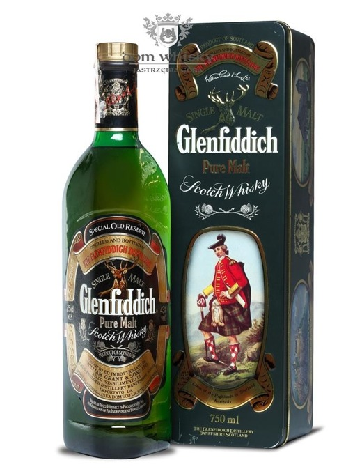 Glenfiddich Pure Malt Clan Kennedy / 43% / 0,75l
