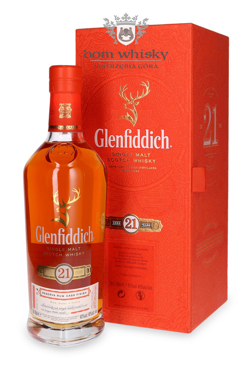 Glenfiddich Reserva 21-letni Rum Cask Finish Batch # 54/ 40%/ 0,7l