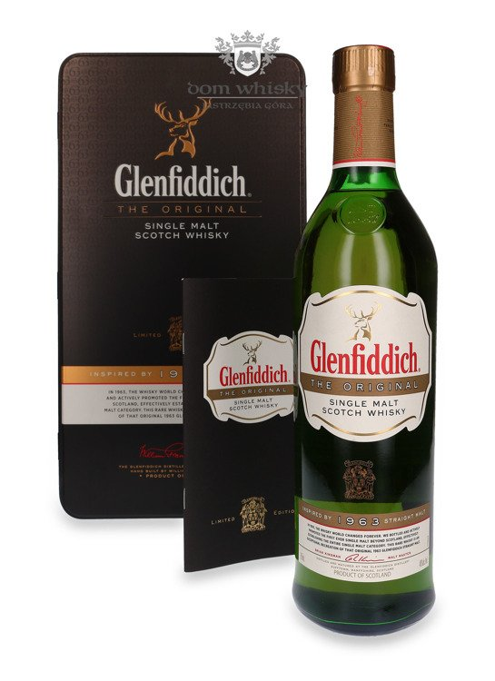 Glenfiddich the Original, Inspired by 1963 Straight Malt /40%/ 0,7l