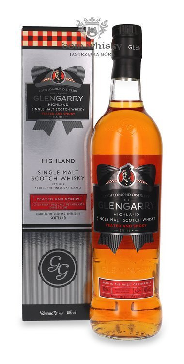 Glengarry Peated and Smoky Highland Single Malt / 40% / 0,7l