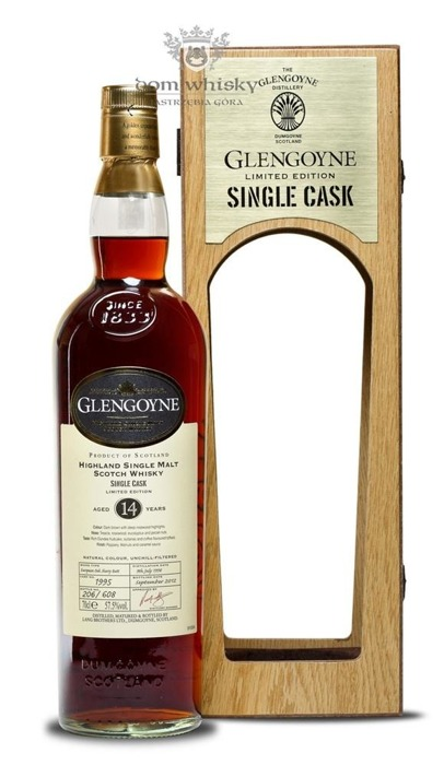 Glengoyne 14-letni Single Cask (D.1995, B.2012)/57,5%/0,7l