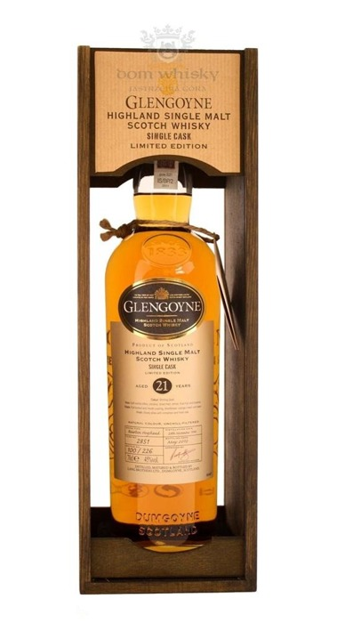Glengoyne 21-letni Single Cask (D.1990, B.2012) / 45% / 0,7l