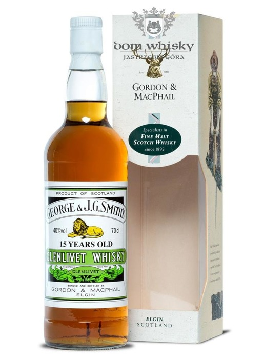 Glenlivet 15-letni Gordon&MacPhail(The Smith's Glenlivet)40%/0,7