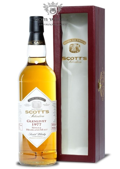 Glenlivet 1977 (Bottled 2009), Scott's Selection / 43,8% / 0,7l