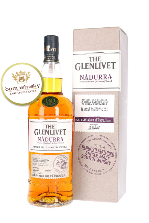 Glenlivet Nàdurra Oloroso Matured (Batch OL0915) / 48% / 1,0l