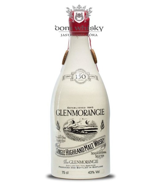 Glenmorangie 21-letni, 150th Anniversary (Bottled 1993) 43% 0,75l