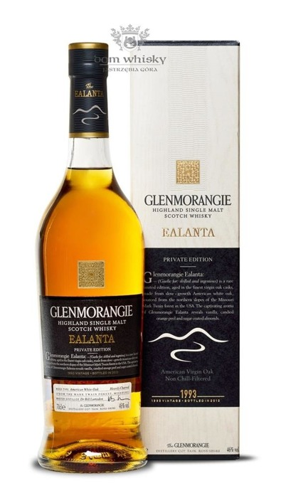 Glenmorangie Ealanta (Private Edition) / 46% / 0,7l