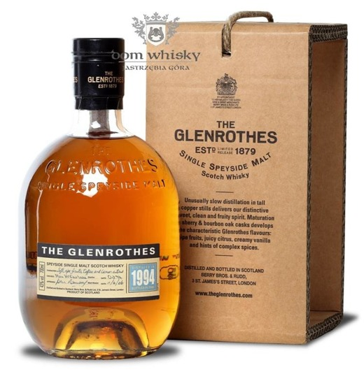 Glenrothes 1994 (Bottled 2008) / 43% / 0,7l