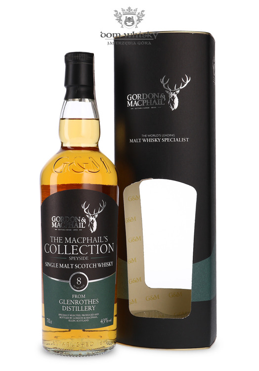 Glenrothes 8-letni The MacPhail's Collection / 43%/ 0,7l
