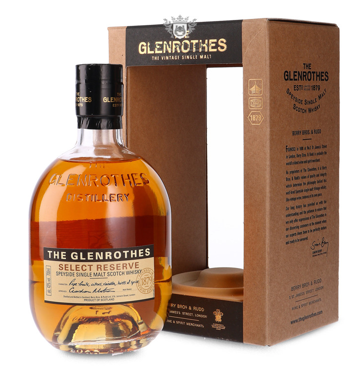 Glenrothes Select Reserve / 43% / 0,7l