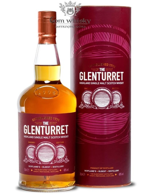 Glenturret Sherry Edition / 40% / 0,7l