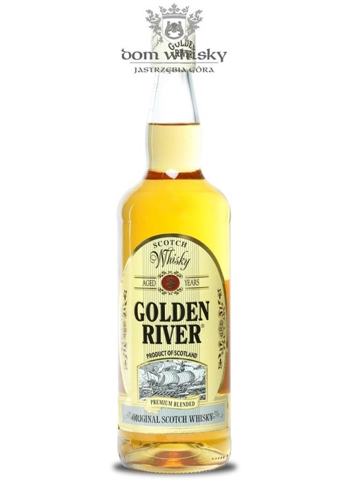 Golden River Premium Blended Whisky, 3-letni / 40% / 0,7l