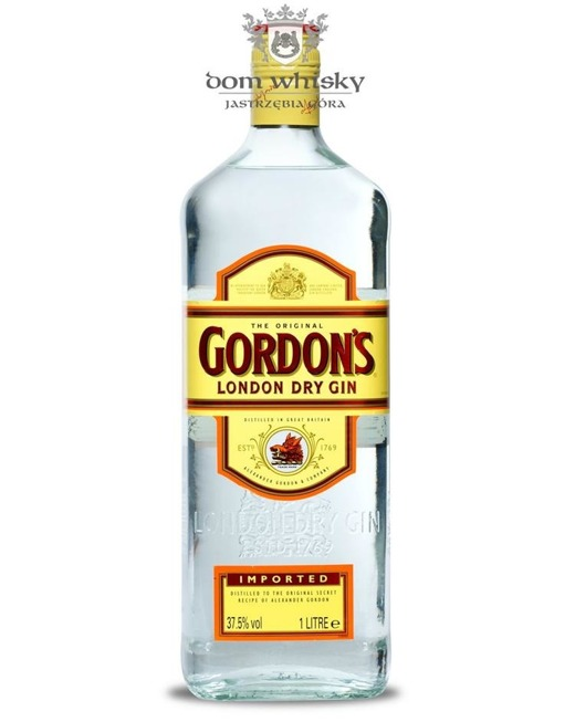 Gordon's London Dry Gin / 37,5% / 1,0l