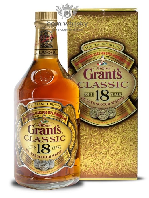 Grant's 18 letni Classic Oak Cask Matured / 43% / 0,75l
