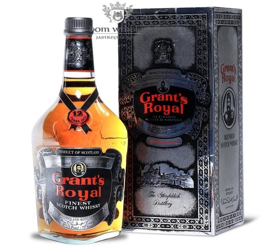 Grant's Royal 12-letni, Finest Scotch Whisky / 43% / 0,75l