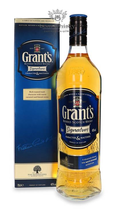 Grant's Signature Blended Scotch Whisky / 40% / 0,7l
