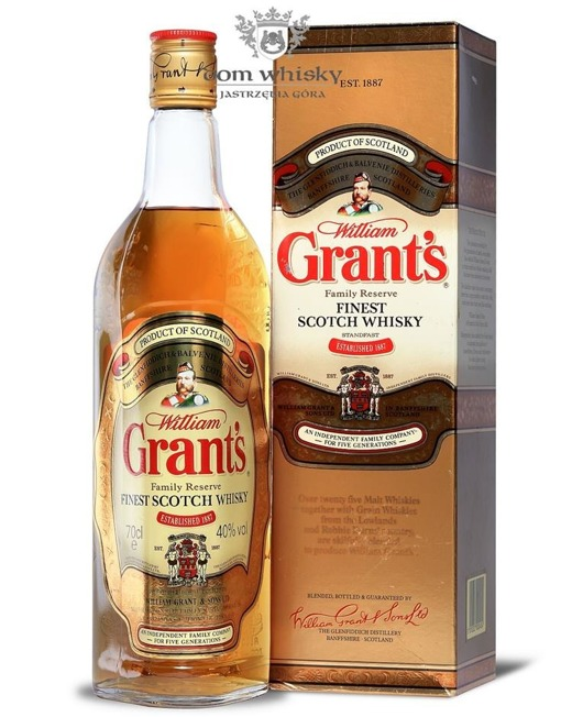 Grant's The Family Reserve Finest Scotch Whisky /Tuba/ 40% / 0,7l