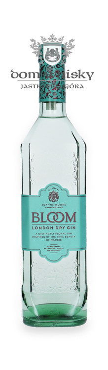 Greenall's Bloom Premium London Dry Gin / 40% / 0,7l