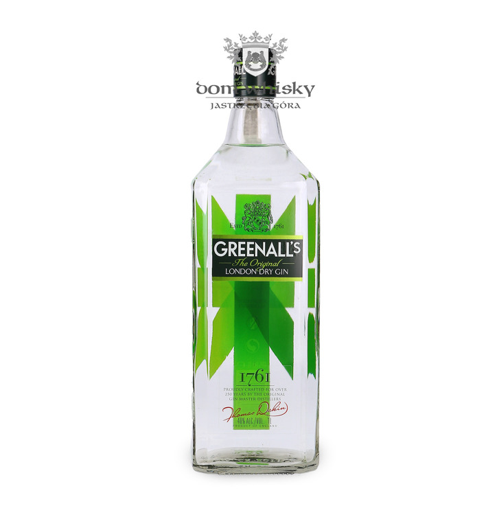 Greenall's The Original London Dry Gin / 40% / 1,0l