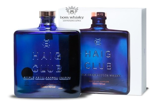 Haig Club Single Grain Scotch Whisky by Beckham / 40% / 0,7l