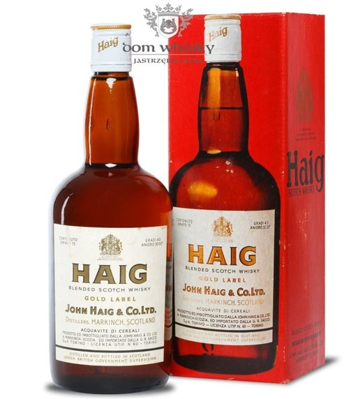 Haig Gold Label / 40% / 0,75l