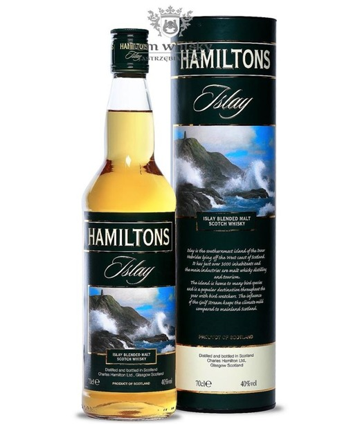 Hamiltons Islay Single Malt Whisky / 40% / 0,7l