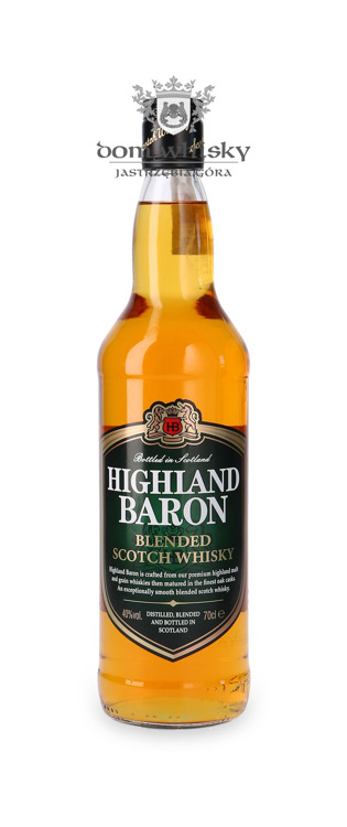 Highland Baron Blended Scotch Whisky / 40% / 0,7l