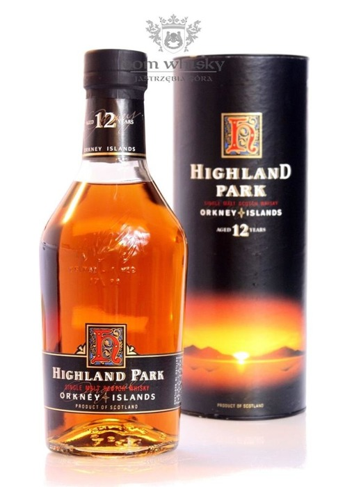 Highland Park 12-letni (Bottled 1990s) / 43% / 0,7l